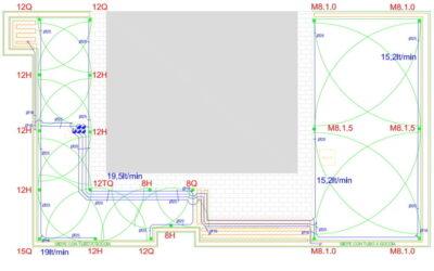 Corso personalizzato di Progettazione BASE rapporto 1 : 1 per impianti d'irrigazione