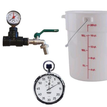 Come misurare la portata per il tuo impianto d'irrigazione